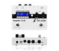 Two Notes Torpedo C.A.B. Guitar Cab and Power Amp Emulator