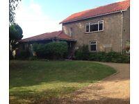 Large double room for rent - near Ely, Cambridgeshire Mon-Fri