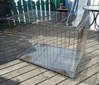 Wire dog crate #6