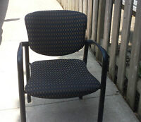 Quality Stackable Office Chairs - Have 12 Available
