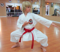 KIDS KARATE CLASSES! Register Today!