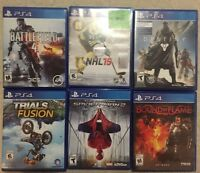 PS4 Games for Sale or Trade for NBA 2K16