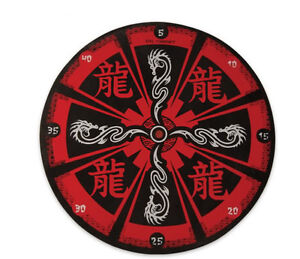 15-RED-DRAGON-THROWING-TARGET-BOARD-Knife-Axe