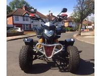 Road legal Quadzilla 300 quad bike Not Yamaha raptor Suzuki *price drop*