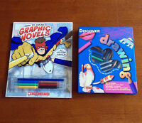 Brand New Drawing Instruction Kits (For Kids)