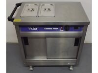 Easy Payments Used Victor Hotcupboard With Bains Marie Pots Hire/Buy