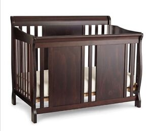 3-in-1 Convertible Crib with Mattress