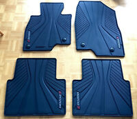 Brand New 2014-2015 Mazda 3 All Weather Rubber Floor Car Mats