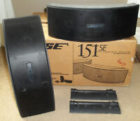 PRICED TO SELL--MOVING--2 BOSE 151 SE Environmental Speakers