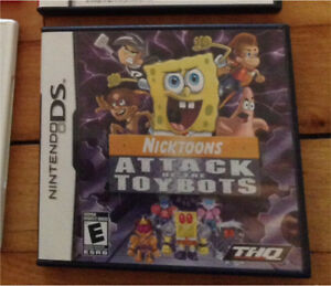 Attack Of The Bots for nintendo ds