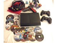 PS3 PlayStation 3 1TB bundle, games controllers and more // reduced