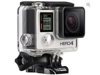 GOPRO HERO4 Action Camcorder - Silver Edition (brand new-sealed)