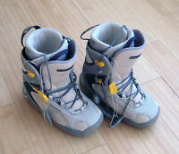 Women's SALOMON SNOWBOARDS BOOTS Size 6.5 Gently Used