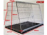 Sloping Dog Crate for Car