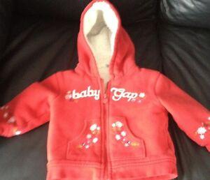 Girls GAP logo hoodie - 18-24m