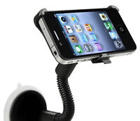 Windshield Mount Holder for iPhone 4 / 4S with Car Charger