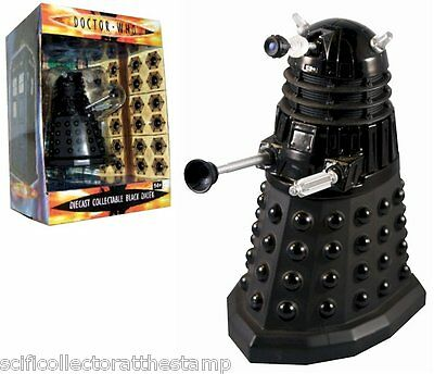 Scificollector Doctor Who Die Cast Collectable Black Dalek - 5 inches Tall - Ace