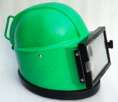 Nos Never Used Clemco Apollo Sand Blasting Safety Helmet With Visor