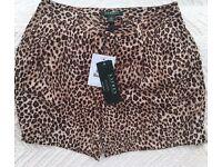 Ladies Ralph Lauren Silk Shorts Brand New UK 8