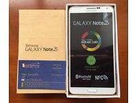 Sim Free Unlocked Beand new Samsung Note 3 with full accessories