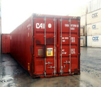 40' Storage and Shipping Containers Used & New For Sale