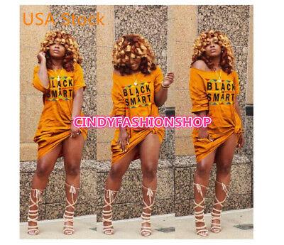 Stylish Women Streetwear  Loose  Short Sleeve Letter Print Pockets T Shirt - Stylish Letter Print Short