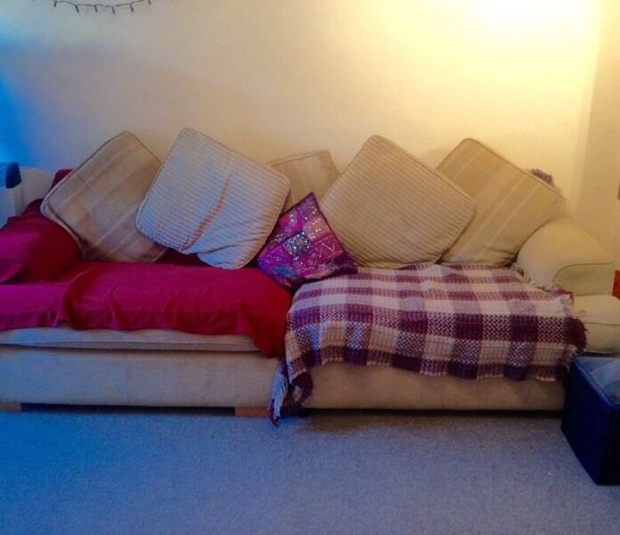 3 4 Seater Sofa For Sale 40 Ono In Cotham Bristol