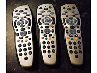 SKY HD REMOTES - ALL WORKING £5 EACH COLLECTION DULOCH