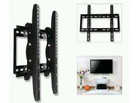 TV Wall Bracket Mount Tilt For 26 32 34 37 40 42 46 48 50 52+ 3D LED LCD Plasma