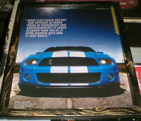 2010 Mustang Shelby Cobra pic- mounted & ready to display