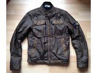 Stone Island Mussola Gommata Jacket SMALL ultra rare khaki