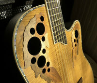 Ovation Koa Top Acoustic/Electric Luthier Setup for Studio&Stage
