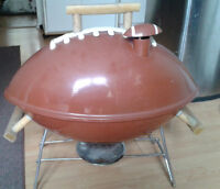 MGD Football Shaped Briquet Barbeque