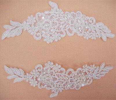 Perlen Hochzeit Kostüm Motiv Blüte Abend Tanzend Kleid Spitze Applikation 1 - Paare Hochzeit Kostüm