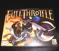 Looking for Full Throttle by LucasArts PC game in box
