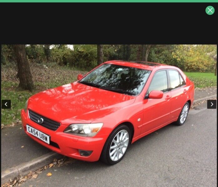 2005 Lexus IS200 2.0 Automatic-1 previous owner-74,000-12 months mot-full history-exceptional