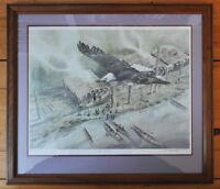 """""""Eagle Potlatch"""" by Lars Belmonte print"""