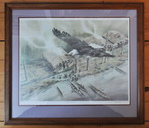 """Eagle Potlatch"" by Lars Belmonte print"