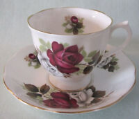 Ten Vintage Teacups and Saucers Royal Albert, Queen Anne...