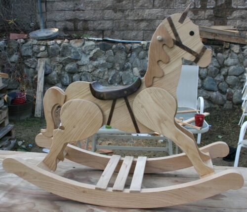 woodworking. Paper Plan. Wood Rocking Horse. (Small child)
