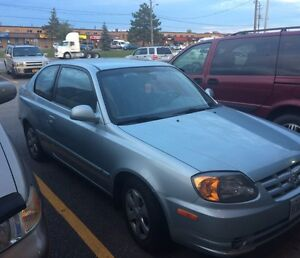 2003 Hyundai Accent as is