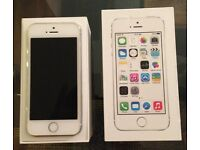 iPhone 5s 16gb White Immaculate with Box