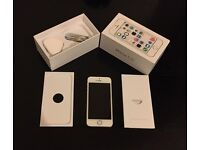 Apple iphone 5S 16gb white/gold (O2)