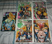 5)COMIC BOOKS FROM 1990's