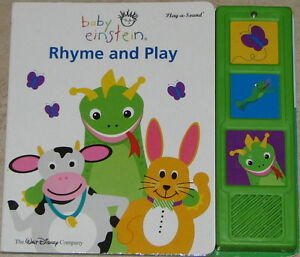 Baby Einstein Rhyme & Play BOARD Book London Ontario image 1