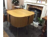 Dining Table for small spaces, ideal for a kitchen or flat - IKEA Fusion