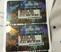 TWO BLUESFEST TICKETS FOR JULY 10TH