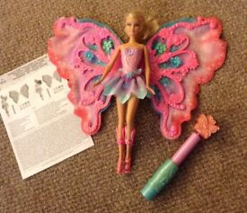 Barbie Flower 'n Flutter Fairy Doll