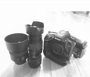Nikon ensemble D610 + battery grip