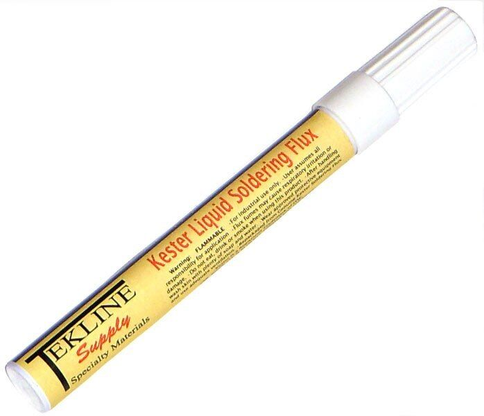 Kester 186 Soldering Flux Pen-Pak by TekLine 12ml Rosin Low-Solids